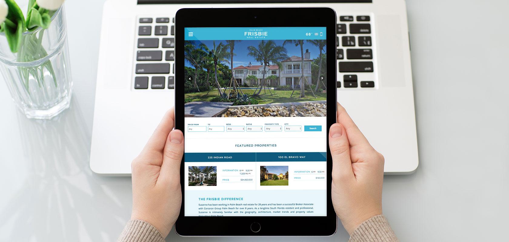 Frisbie Palm Beach tablet
